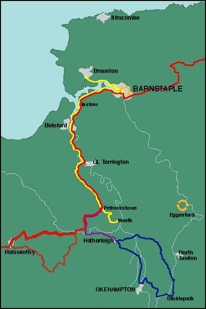 Cycling On Exmoor And The Exmoor National Park